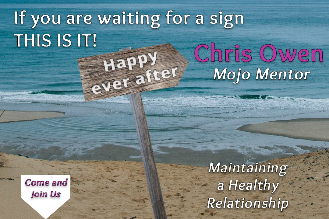 Chris Owen - Mojo Mentor Boosting YOUR Relationship Mojo. Come & join us.