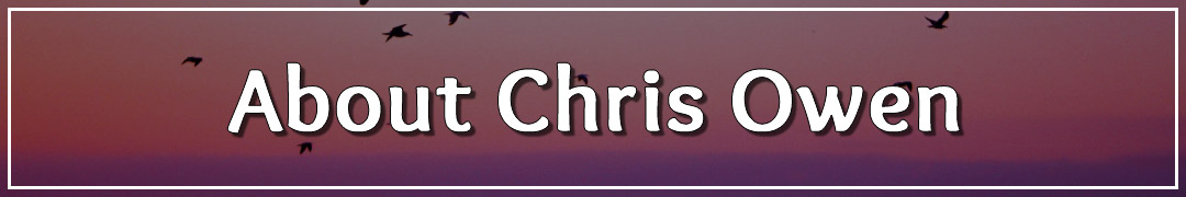Page Banner - About Chris Owen