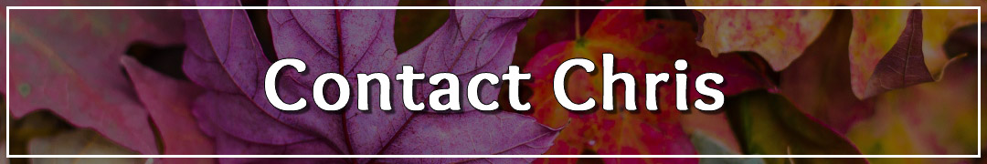 Page Banner - Contact Chris