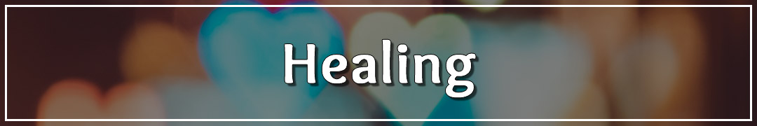 Blog Page Banner - Healing